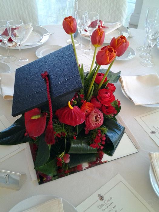 Addobbi floreali per feste di laurea anna glicine andria for Addobbi per laurea