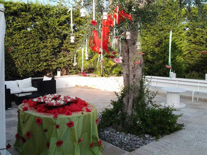 Decorazioni Sala Laurea : Addobbi floreali per feste di compleanno 18 anni